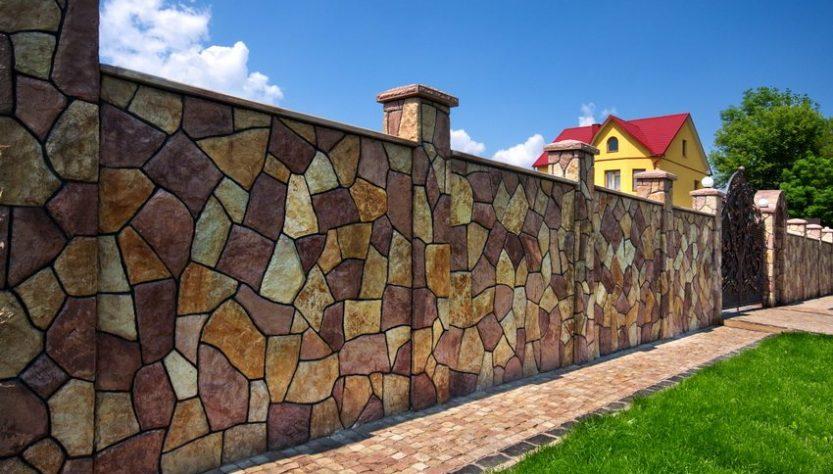 забор для загородного дома